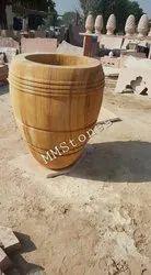 Stone Long Planter Pots