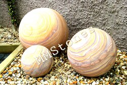 Rainbow Sandstone Balls
