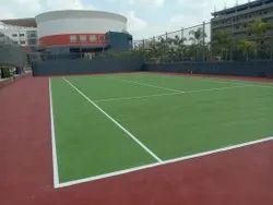 Tennis Acrylic Synthetic Court Flooring