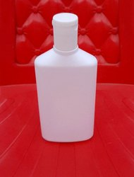 100ml Hdpe Flat Shampoo Bottle