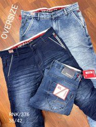 Denim Faded mens jeans, Waist Size: 36-38-40-42