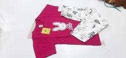 Unisex Casual Wear Kids pajama set, Size: 2/3 4/5 6/7 8/9