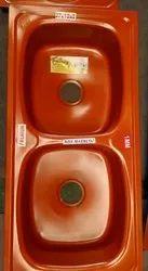 Fantus Sink Double Bowel