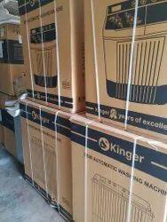 Kinger Semi Automatic Washing Machine 12 Kg, Burgandy