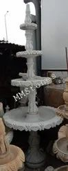 Marble Fountain 4 Tier