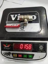 BRASS CP BALL VALVE 15MM 160GM
