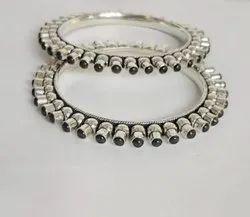 92.5 Round Silver Jewellery, Size: 2.4, 40gram