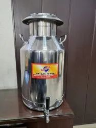 Stainless Steel Milk Cans with Tap