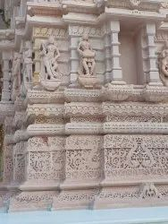 Heritage Look Frp Temple Decorations
