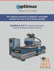 CNC Routing & Boring Centre OptiRout 6.9 V