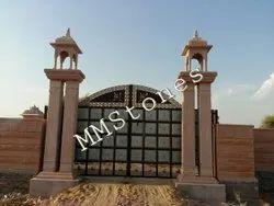 Stone Decorative Gate