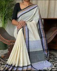Plain Cotton Weaving Sarees