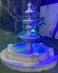 White Marble Fountain