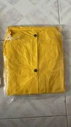 Yellow commercial raincoat