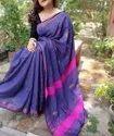 Tissue Khadi Cotton Weaving Sarees