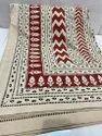 Bagru Hand Block Print Cotton Bedsheet