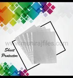 Sheet Protector Folder