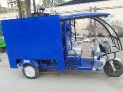 E Rickshaw Cart Loader Band Body(Closed Body With Roof )