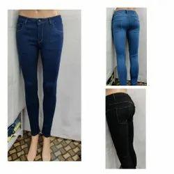 Harry Skinny Ladies Lycra Jeans, Waist Size: 26-28-30-32-34