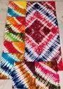 Multi color tie dye nighty piece