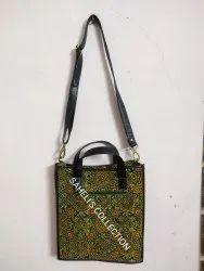 Ajrak Printed  Bags