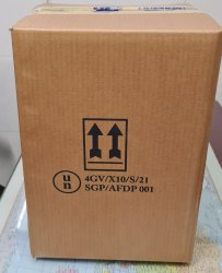 UN Approved Fiberboard Box