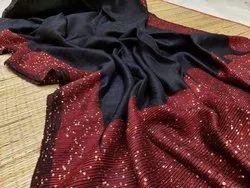 Matka Silk Sequins Sarees