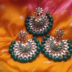 Wedding Gold Plated Imitation Earrings