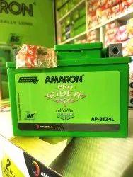 Amaron Capacity: 4ah Z4L two wheeler battery