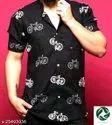 Pure Cotton Pretty Ravishing Men Shirts, Block Print, Multicolour