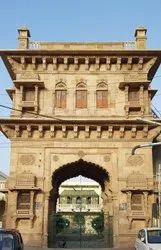 Stone finished Temple Decorations Haveli Look