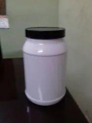 Protein Supplement Plastic Jar