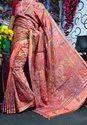 Hand Kantha Stitch Work Silk Sarees
