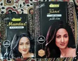 Pouch Natural Black Henna Hair Colour, For Personal, Packaging Size: Box