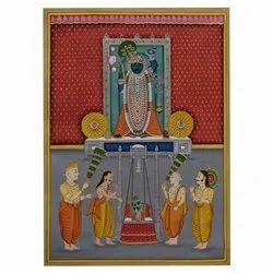 Shreenathji Pichwai Painting