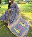 Khadi Cotton Check Weaving Sarees