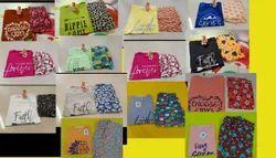 Cotton Nj nightwear suit womens, T-Shirt