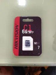 64GB Hikvision, V30, Model Name/Number: HS-TF-C1