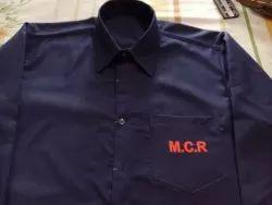Blue Men Industrial Worker Uniform, For Corporation, Size: Specified