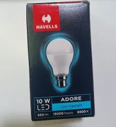 Ceramic Round 10 watt havells led bulb