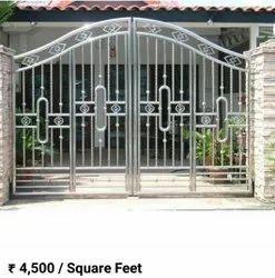 Iron Window Railing