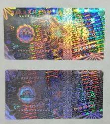 Custom Hologram Labels