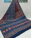 Printed Cotton Mulmul Saree