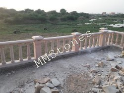 Sand Stone Baluster Railing