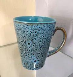 Blue Ceramic Coffee Mug, For Home