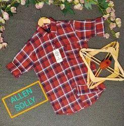 Cod Accepted/Bhaldh0160 Check Shirt
