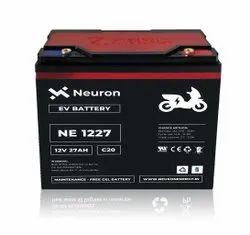 Neuron Electrical Vehicle Battery, Capacity: 12v 27ah