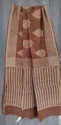 Hand Block Printed Chanderi Silk Sarees
