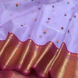 Banarasi Organza Silk Weaving Sarees