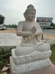 Stone Bhudha Statue